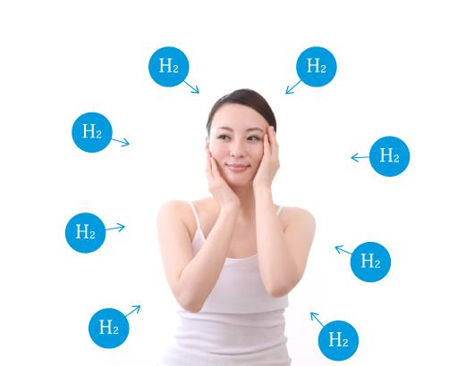 水素がからだの様々な症状に効果が